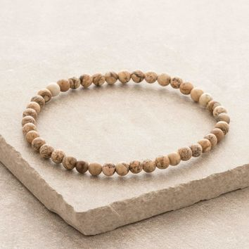 Picture Jasper Mini Energy Gemstone Bracelet