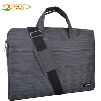 FOPATI Fashion Laptop Bag 15.6 14 13 12 11 inch Notebook Shoulder Messenger Bag Computer Sleeve Sling Case for Macbook Pro 13 15