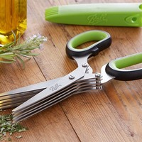 Ball® 5-Blade Herb Scissors by Ball® at Fresh Preserving Store