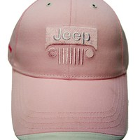 Ladies Pink Jeep Hat