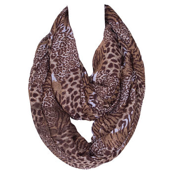 Alicia Keys Inspired Leopard Scarf - FREE Delivery