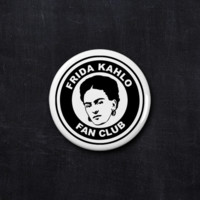 Frida Kahlo fan club button