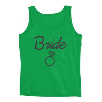 Bride Cute Workout Tank- Bridal shower tank- Bridal party shirt