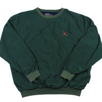 Vintage Polo by Ralph Lauren Golf Jacket in Green Mens Size Large