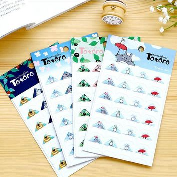 New triangle design cartoon series 3D manual corner sticker SET Deco label  scrapbooking stickers  office school supplies