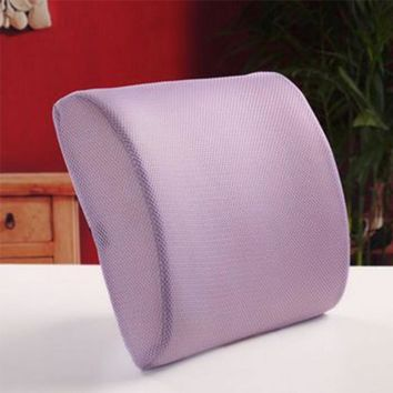 High Quality Fashion Memory Foam Seat Chair Lumbar Back Support Cushion Pillow For Office Car Auto Seat Chair
