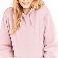 Urban Renewal Vintage Customised Bleached Pink Hoodie - Urban Outfitters