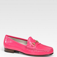 Patent Leather Horsebit Loafers - Zoom - Saks Fifth Avenue Mobile