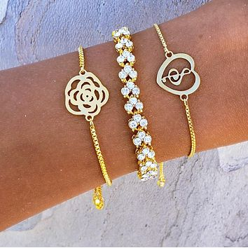 Music Note Bracelet Set