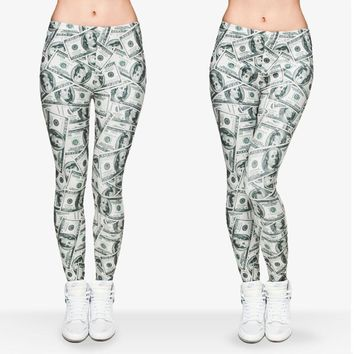 Graphic Printed Stretchy Slim Fit Aztec Leggings