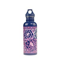 Vera Bradley - Katalina Pink Water Bottle