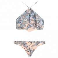 Porcelain Waterfall Bikini - Swimwear - Swim & Resort