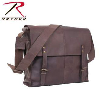 Brown Leather Medic Bag