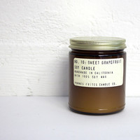 Sweet Grapefruit 7.5 oz Soy Candle