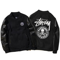 Stussy Winter Embroidery Camouflage Print Thicken Jacket [9391650311]