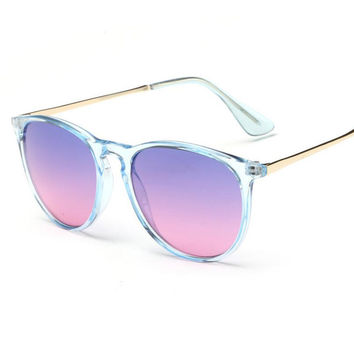 ROYAL GIRL Newest Classic Brand Round Sunglasses Women Candy Color Vintage Shades ss116