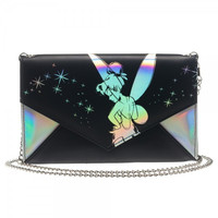 Disney Tinkerbell Envelope Wallet wtih Chain