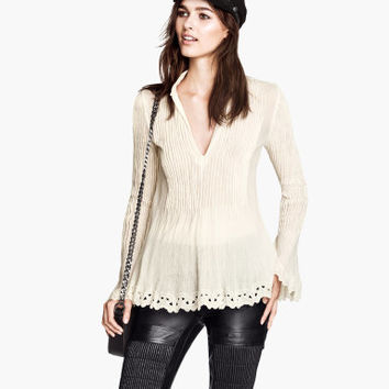 H And M Cotton Blouse 39