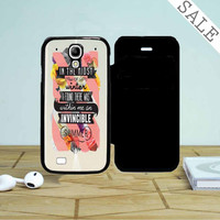 Say Hello To Summer Samsung Galaxy S4 Flip Case