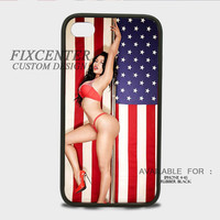 Nicki Minaj Drake Lil Wayne American Flag Music Rapper Rubber Cases for iPhone 4,4S, iPhone 5,5S, iPhone 5C, iPhone 6, iPhone 6 Plus, Samsung Galaxy S3, Samsung Galaxy S4, Samsung Galaxy S5  phone case design