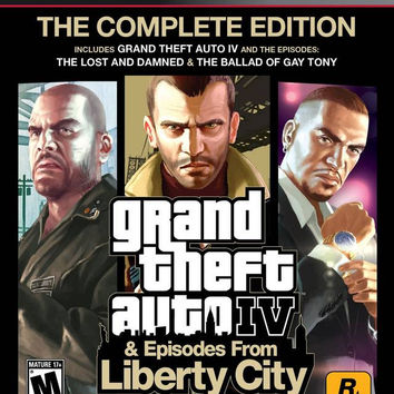Grand Theft Auto IV: Complete Edition - Playstation 3 (Game Only)