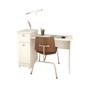 Pixie Desk/Vanity - White