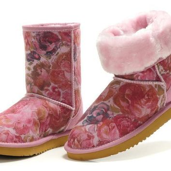 UGG 5825 women's snow boots rose color new style
