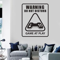 Vinyl Wall Decal Play Room Video Game Gaming Stickers Mural Unique Gift (ig3711)