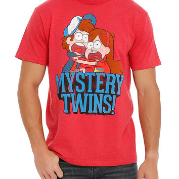 Disney Gravity Falls Mystery Twins T-Shirt