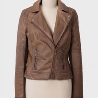 Johs Quilted Leatherette Jacket By BB Dakota