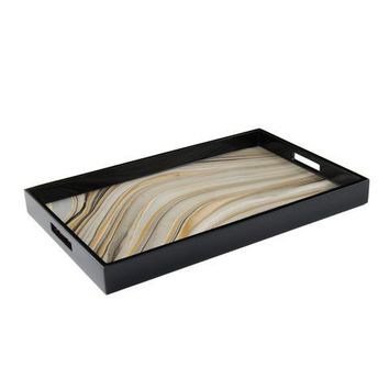 Tucson Paper Inlay Lacquer Breakfast Tray