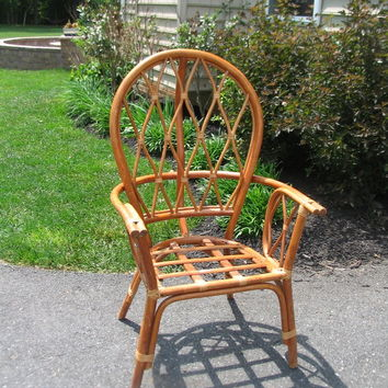 Lovely Vintage Rattan Chair
