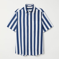 H&M Regular Fit Short-sleeve Shirt $24.99