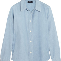 A.P.C. Atelier de Production et de Création - Mike cotton-chambray shirt
