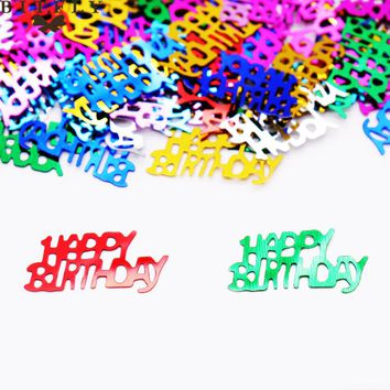 Birthday Numbers 16 18 21 30 Birthday Confetti Party Decoration Birthday Party 15g / 25 options
