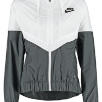 Nike Sportswear Summer jacket - white/black/black - Zalando.co.uk