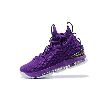 One-nice™ Nike LeBron James Fashion Men Running Sport Casual Shoes Sneakers Purple Black I-CSXY