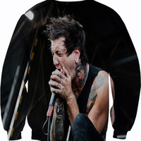 Of Mice and Men Crewneck Sweater Sweatshirt Austin Carlisle