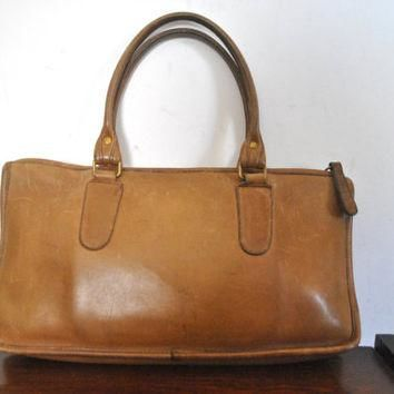 COACH Bag / Brown Doctor Speedy Handbag Purse / Bonnie Cashin