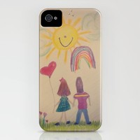 Crayon Love:  Happily Ever After iPhone Case by RDelean | Society6