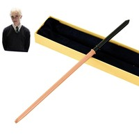 Metal Core Draco Malfoy Magic Wand/  Potter Magical Wands/Quality Gift Box Packing   for Harri Potter Cosplay