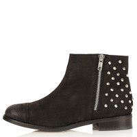 ACCOMPLICE Double Zip Boots - Rave New World - Collections - Topshop