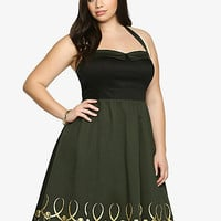 Marvel By Her Universe Collection Loki Halter Dress
