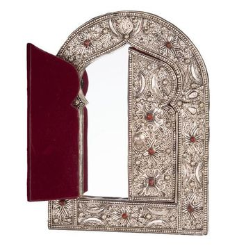 Moon Over Morocco Hinged Wall Mirror