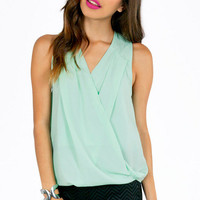 Crissie Crossover Top $26