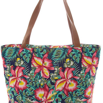 Timeless Tote- Floral