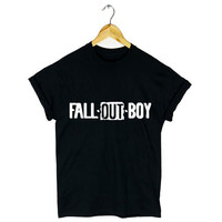 FALL OUT BOY T SHIRT TOUR AMERICAN ROCK POP PATRICK STUMP TUMBLR NEW GIFT