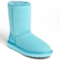 Women's UGG Australia 'Classic Short' Metallic Patent Boot