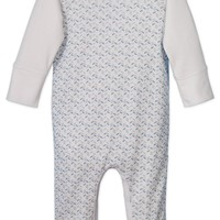 Sailor Sleeve Romper by Feather Baby