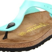 Birkenstock Women's Gizeh Thong Sandal,Graceful Mint,37 M EU